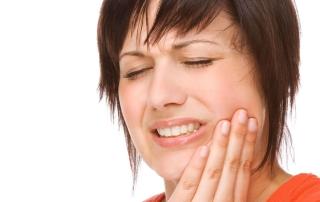 Schmerzempfindlichen Zähne